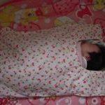 赤ちゃん毛布★四女用に作った初めての物
