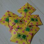 折り紙で簡単?小銭入れ
